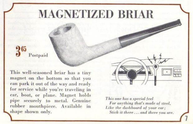 Magnetized pipe